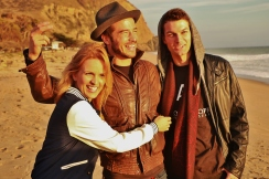 Actress Vanessa Martini, Actor Ryan Carnes, Model James Wilker