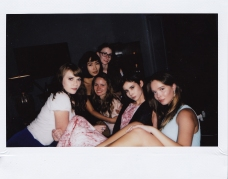 Polaroid during dinner, the positive energy of this group was truly mesmerizing ( pictured: @the.lovely.mo, @misshamino, @pennyvyne, @eveyevelyn.sommer, @azaleajeanette, @silvy_sirius )