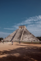 Amongst the Mayan Ruins in Chichen Itza