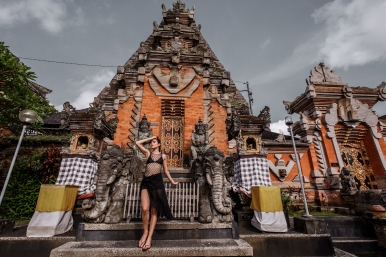 Temples in Bali, indonesia
