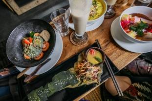 Raw Vegan Meals in Ubud