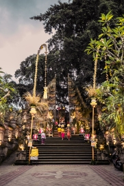 Ceremony at a Balinese Temple