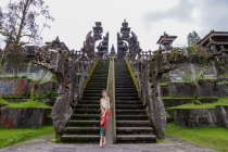 The largest temple in Bali- Besakih Temple